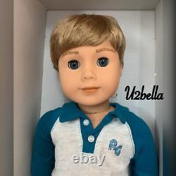 American Girl Truly Me 74 Boy Doll & Book Same Day Ship Nouveau Dans La Boîte