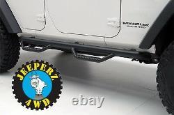 Barres Nerf Avec Pas Pour Jeep Jku Wrangler Unlimited, 90764, Envoi Gratuit
