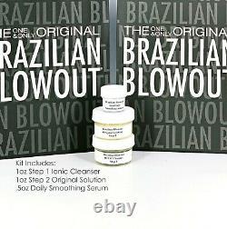Brazilian Blowout Solution Originale Kératine Traitement 1oz Kit -sameday Shipping