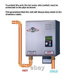 Chauffe-eau Sans Réservoir Titan Scr-4 N-210. Nouveau. Livraison Gratuite Le Jour Même