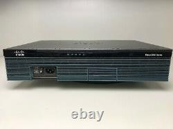 Cisco Cisco2911-sec/k9 3 Port Security Bundle Router Same Day Shipping