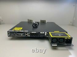 Cisco Ws-c3750e-48pd-sf 48 Port Poe 3750e Gigabit Switch Le Jour Même Expédition