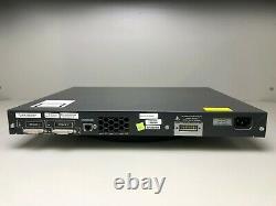 Cisco Ws-c3750g-24ps-s 24 Port Poe 3750g Commutateur Gigabit Le Jour Même Expédition