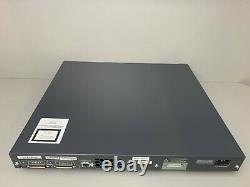 Cisco Ws-c3750g-48ps-s 48 Port Poe 3750g Commutateur Gigabit Le Jour Même Expédition
