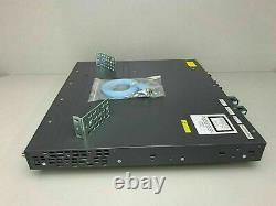 Cisco Ws-c3750x-48p-s 48 Port Poe 3750x Interrupteur Gigabit Même Jour