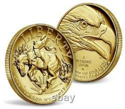 Dans La Main! 2021-w American Liberty 2021 High Relief Gold Coin 21da Navires Le Même Jour