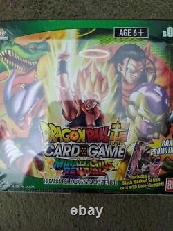 Dragon Ball Super Miraculous Revival Booster Box Seled Le Jour Même Expédition