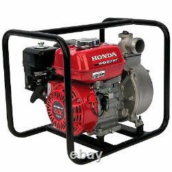 Honda Wb20xt3a 2 Pompe À Eau Gratuit Le Jour Même Expédition