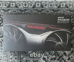 In-hand Amd Radeon Rx 6700xt 12g Gddr6 Graphics Card Gpu Nouveaux Navires Le Même Jour