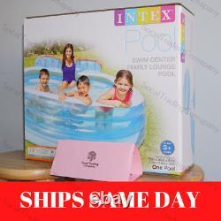Intex Gonflable Family Lounge Pool Swim Center Adult Kid Round Ships Same Day
