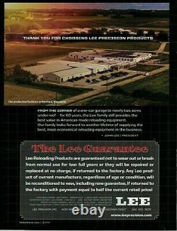 Lee Deluxe Carbide 4 Die Set 9mm 90963 Same Day Priority Mail Shipping