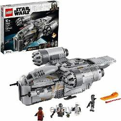 Lego Star Wars The Razor Crest Mandalorian 75292 Nouveau Bébé Yoda Same Day Ship