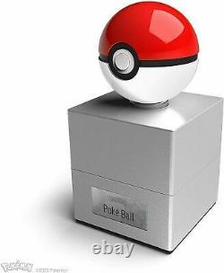 Livraison Gratuite Du Même Jour Pokemon Poké Ball Die-cast Replica Wand Company Pokeball