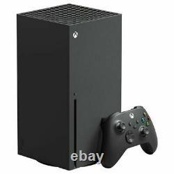 Microsoft Xbox Series X 1tb Console De Jeu Vidéo Noir Dans La Main Expédition Le Même Jour