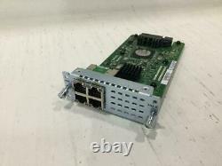 Module D'extension Lan Gigabit Nim-es2-4 De Cisco Pour Routeur Isr