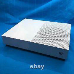 Navires Même Jour Microsoft Xbox One S 1tb Console D'édition Entièrement Numérique Blanc