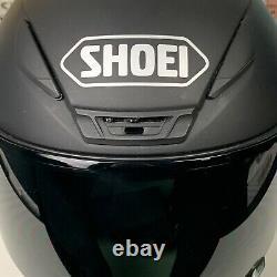 Navires Même Jour Shoei Rf-1200 Casque De Moto Matte Noir Taille Petite Rare
