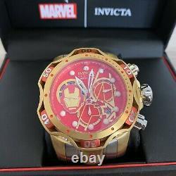 Navires Same Day Invicta 27175 Réserve Marvel 52mm Venin Le- Iron Man Rare