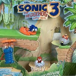 Navires Same Day Mcdonald's Happy Meal Display Sonic The Hedgehog 3 Sega 1993 Rare