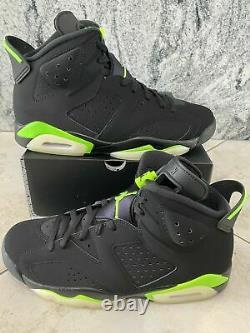 Nike Air Jordan 6 Retro Electric Green Taille 11 Livraison Gratuite! Navires Sameday