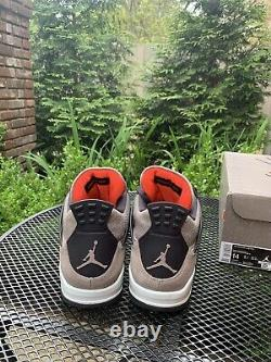 Nike Air Jordan Retro 4 Taupe Haze (db0732-200) Taille 14 Navires Le Même Jour