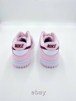 Nike Dunk Low Gs Rose Valentines Day Taille 5y (cw1590-601)