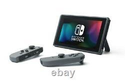 Nintendo Switch Hac-001 (-01) Console 32 Go Avec Gray Joycon Navires Sameday 2day