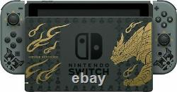 Nintendo Switch Monster Hunter Rise Deluxe Edition System In Hand Navires Le Même Jour