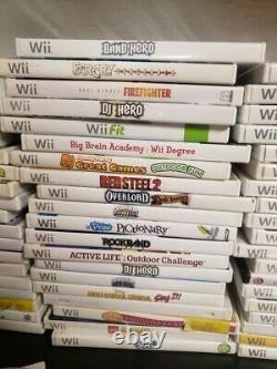 Nintendo Wii Console 2 Ou 4 Ensembles De Télécommandes 3 Jeux Navires Same Day Gamecube