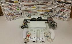 Nintendo Wii Console Games 2 Définit Les Contrôleurs Authentiques Same Day Shipping