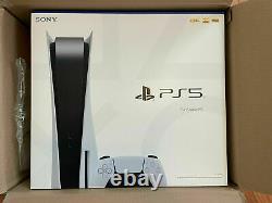 Nouveau Ps5 Sony Playstation 5 Console Disc Version Livraison Gratuite Du Jour