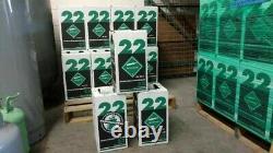 Nouveau R-22 Virgin Réfrigérant Factory Sealed 10 Lb. Livraison Gratuite Du Même Jour À 15h