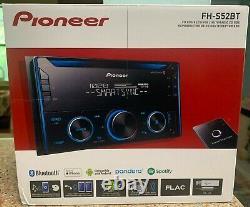 Pioneer Fh-s52bt Double 2 Din CD Mp3 Bluetooth Dans La Même Journée Livraison Gratuite