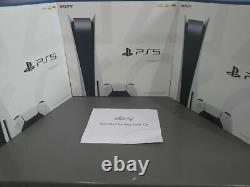 Playstation 5 Console Brand New En Box -fast Le Même Jour Expédition Accélérée