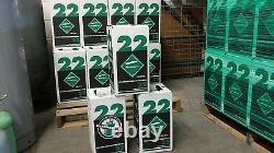 Réfrigérant R22 15 Lb. Nouvelle Usine Scellée Faite Aux Etats-unis Livraison Gratuite Le Même Jour