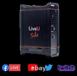 Same Day Fast Shipping Liveu Solo Hdmi Vidéo/audio Live 4g Encoder #lu-solo-hdmi