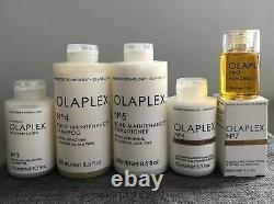 Same Day Ship Olaplex No3, No4, No5, No6 & No7- Full Set, Scellé