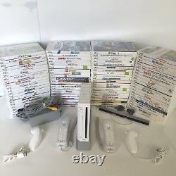 Seme Jour Livraison Console Système Nintendo Wii 2 Jeux De Contrôleurs Jeux+extra