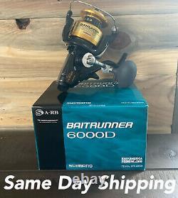 Shimano Btr6000d Baitrunner 6000 Saltwater Reel Free Livraison Prioritaire Le Même Jour
