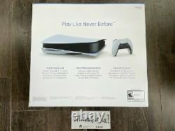 Sony Playstation 5 Console Disc Version Ps5 Tout Nouveau Navire Le Même Jour