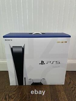 Sony Playstation 5 Console Usine Scellée Disc Edition Expédié Le Même Jour