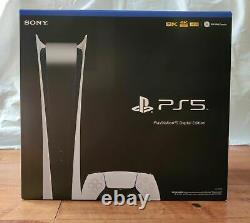 Sony Playstation 5 Digital Edition Console Ps5 White Ships Même Jour