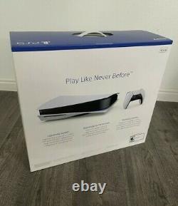 Sony Playstation 5 Édition De Disque- À La Main Expédie Le Même Jourbrand New (ps5)