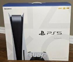 Sony Playstation 5 Ps5 Console Disc Versionships Same Day