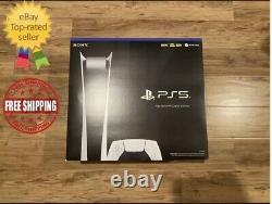 Sony Playstation 5 Ps5 Digital Edition Console Grand Nouveaux Navires Même Jour
