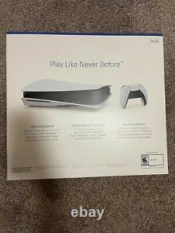 Sony Ps5 Playstation 5 Blu-ray Console De Jeu De Jeu Nouveau Jour D'exploitation