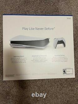 Sony Ps5 Playstation 5 Blu-ray Disc Console De Jeu Vidéo Fast Shipping Même Jour