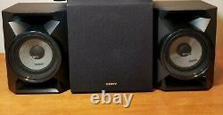 Sony Sa-cs9 70w Powered Subwoofer & 2 Haut-parleurs Même Jour