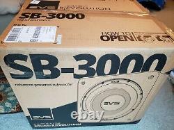 Svs Sb-3000 2500w Peak Power 13 En Acheté En Décembre! (1 Sur 2) Expédier Le Même Jour
