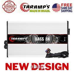 Taramps Bass 8k 8000 Watts 1 Ohm Amplificateur USA Dealer Same Day USA Shipping